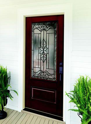 Jeld Wen Design Pro Fiberglass Series Front Entry Door ¾ View Style