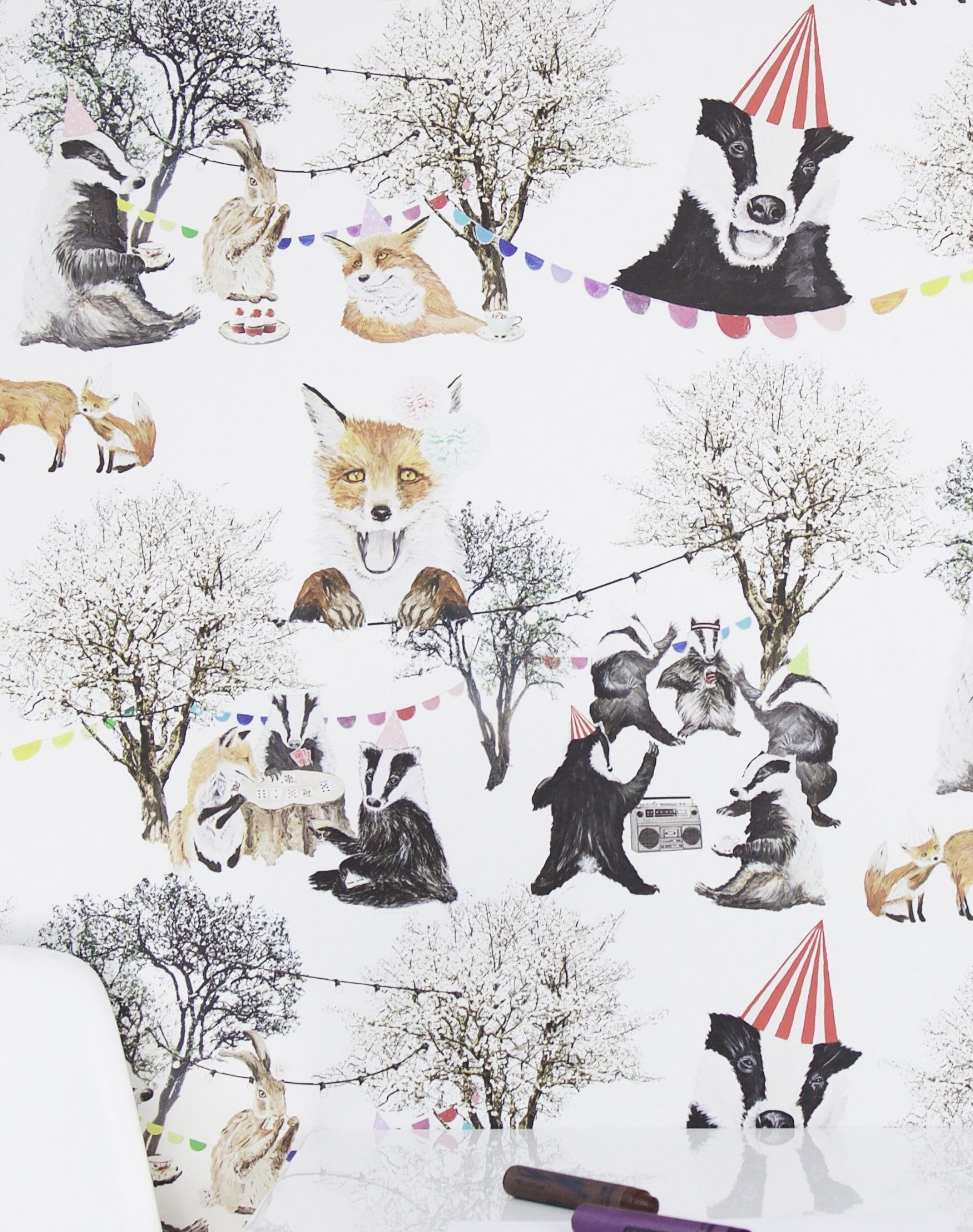 Woodland Rave Wallpaper In 2020 Wallpaper Wild Animal Wallpaper Animal Wallpaper
