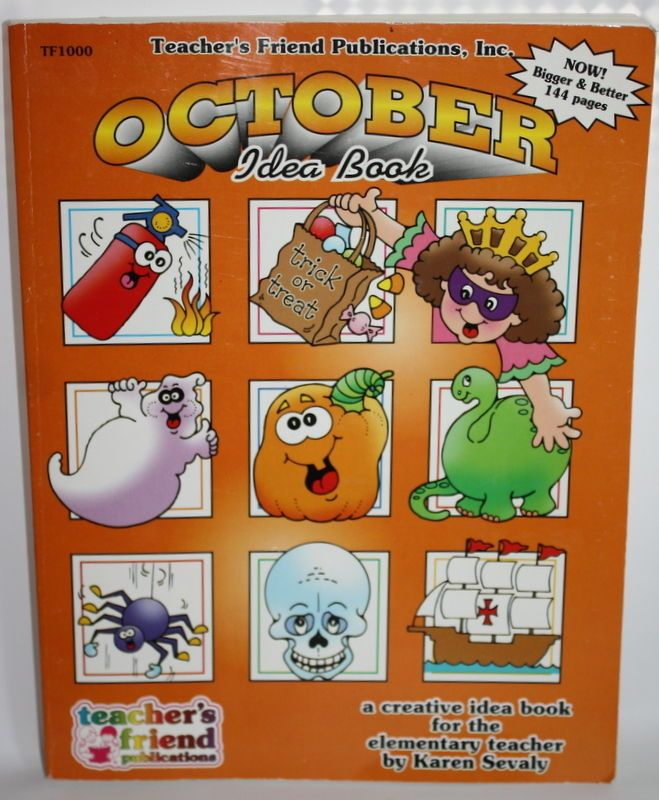 Teacher S Friend Publications October Idea Book Holiday Fall Fun Projects Holiday Books October Ideas Teacher Friends