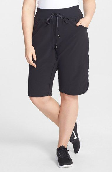 Zella 'City' Shorts (Plus Size) available at #Nordstrom