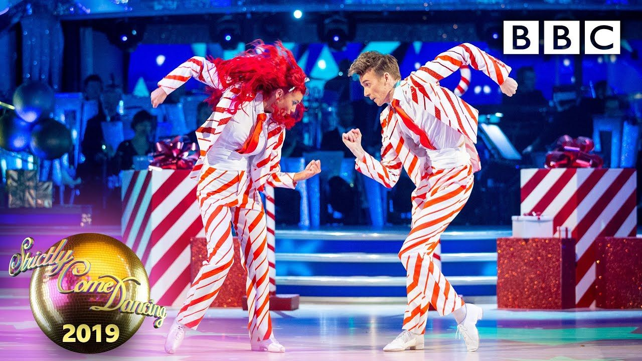 Special Christmas Episodes On Bbc 2020 Joe Sugg and Dianne Buswell strut their stuff again!   Christmas