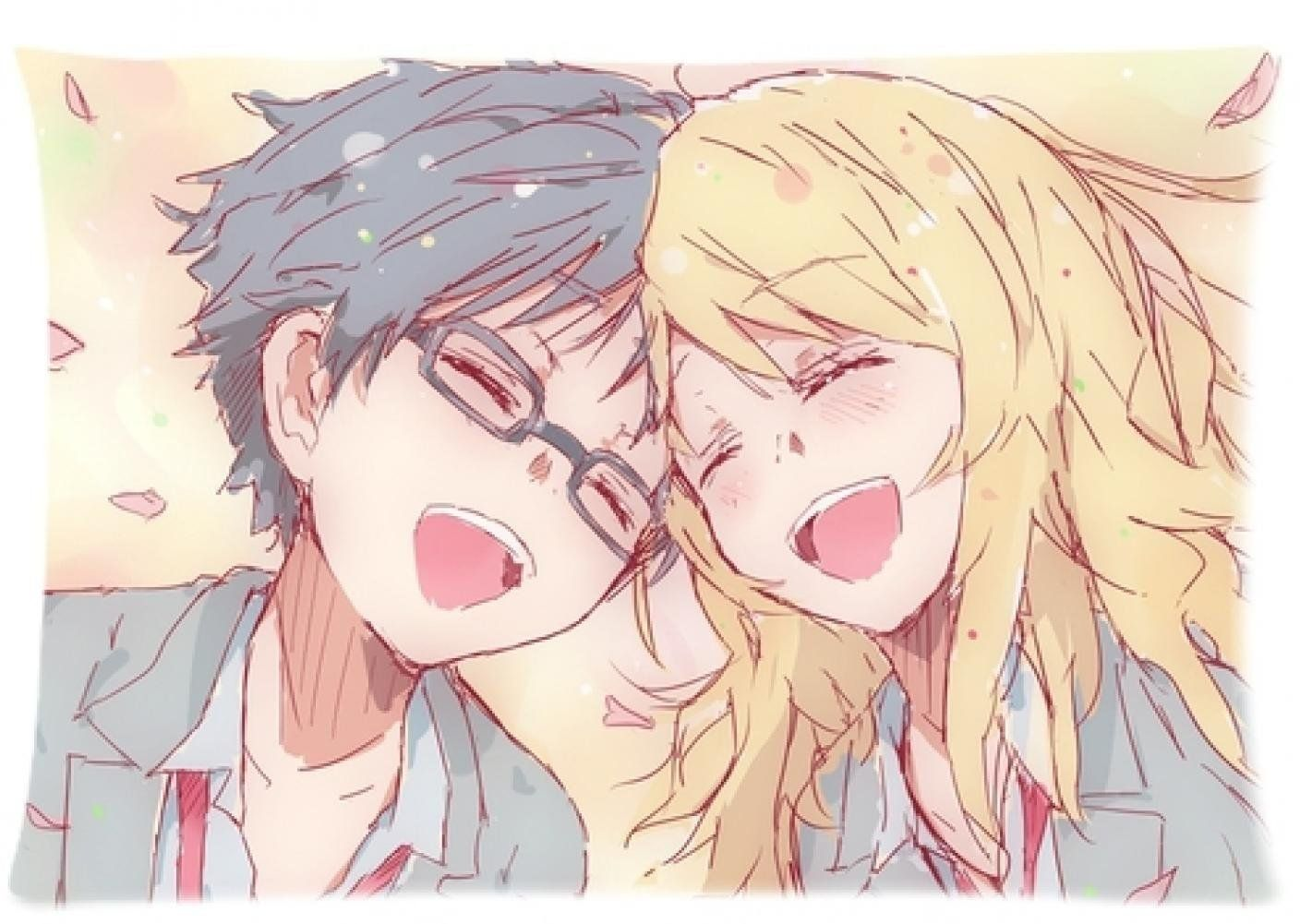 The gift to anime fans a wide variety of hot anime your lie in april the gift to anime fans a wide variety of hot anime your lie in april pillow case cover standard size 20x30 solutioingenieria Images