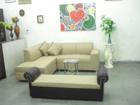 For Sale Beige L Shape Sofa With Settee For More Information Please Visit Http Usedfurnitures In Product 5 Seater L Shaped Sofa With Settee Decoracion De Unas