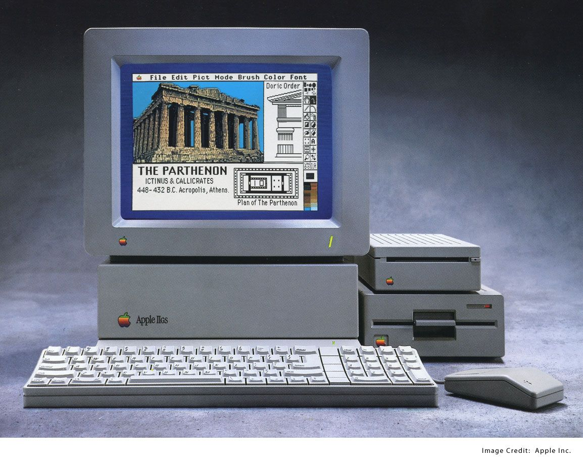 apple iigs my first computer