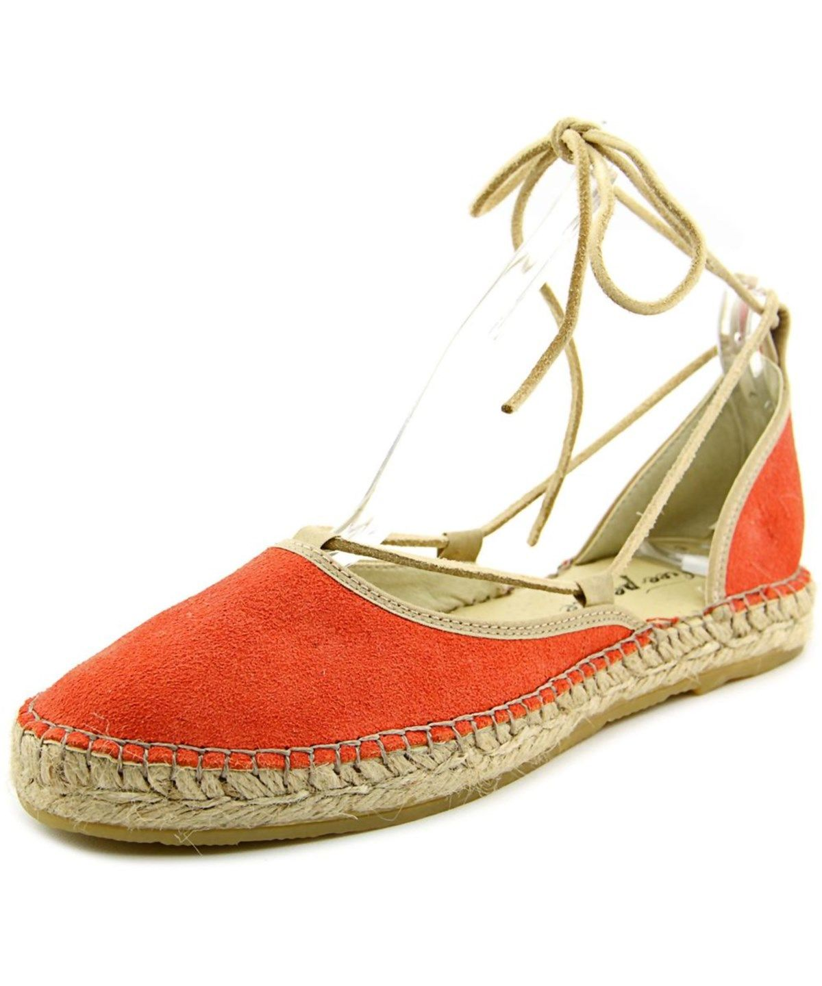 81cb9dad5 FREE PEOPLE Free People Marina Lace Up Round Toe Suede Espadrille'.  #freepeople #shoes #flats