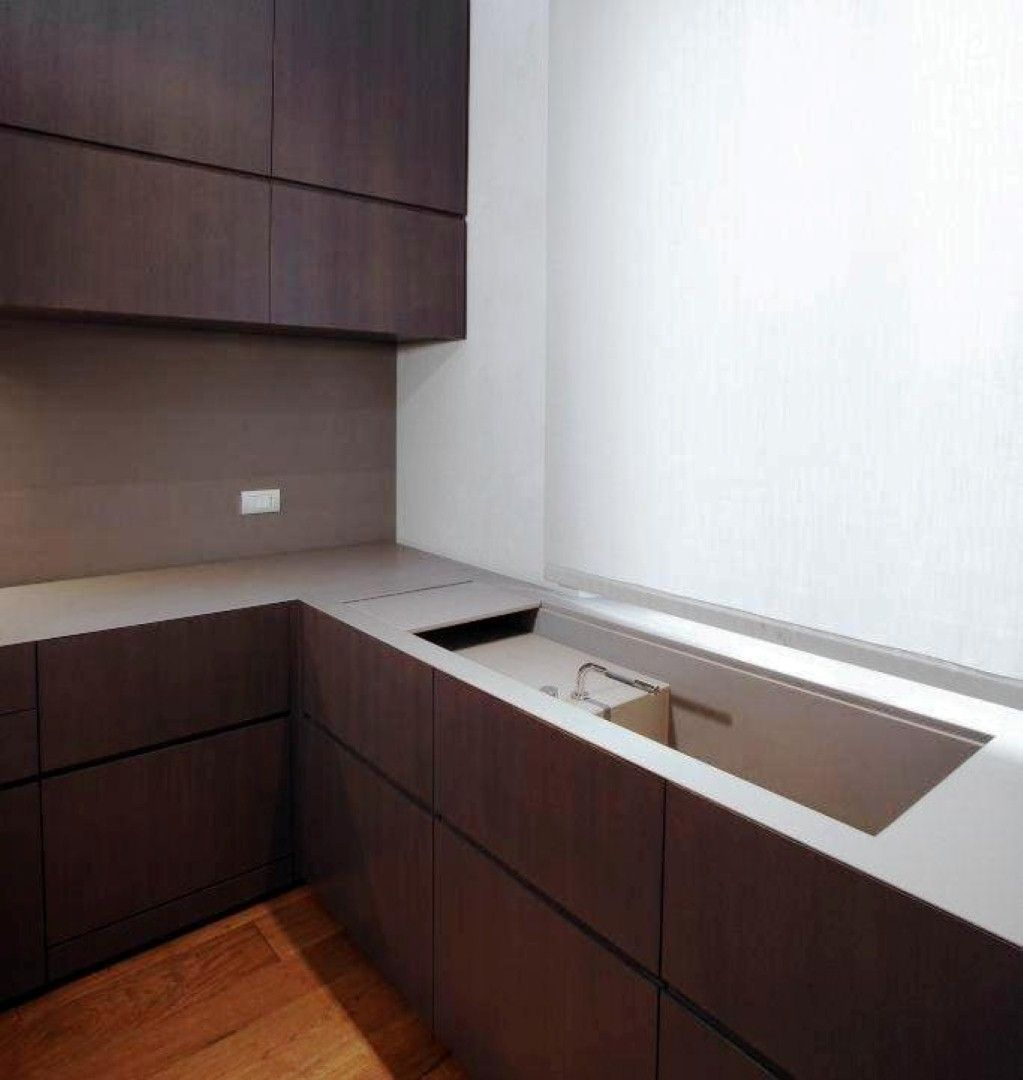 top cucina in quarzite grigia | design esclusivo Marmocasa ...