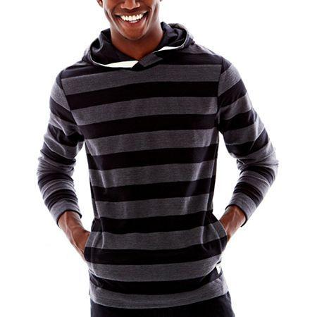 vans striped hoodie