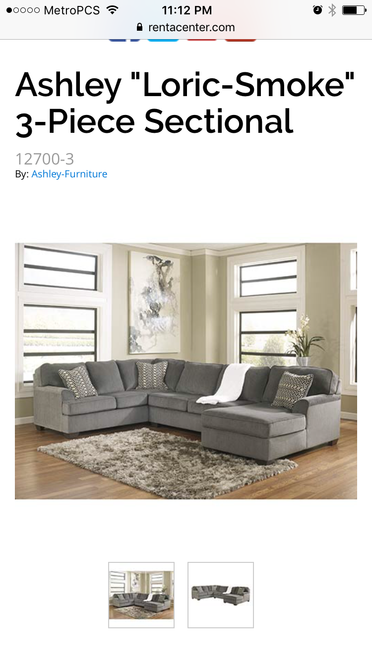 Pin By Rachel Quinteros On Home Goals Ashley Furniture Grey Sectional Sofa Living Room Sets
