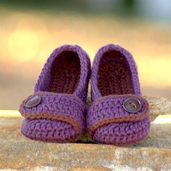 Toddler Crochet Pattern for The Valerie Slipper Toddler