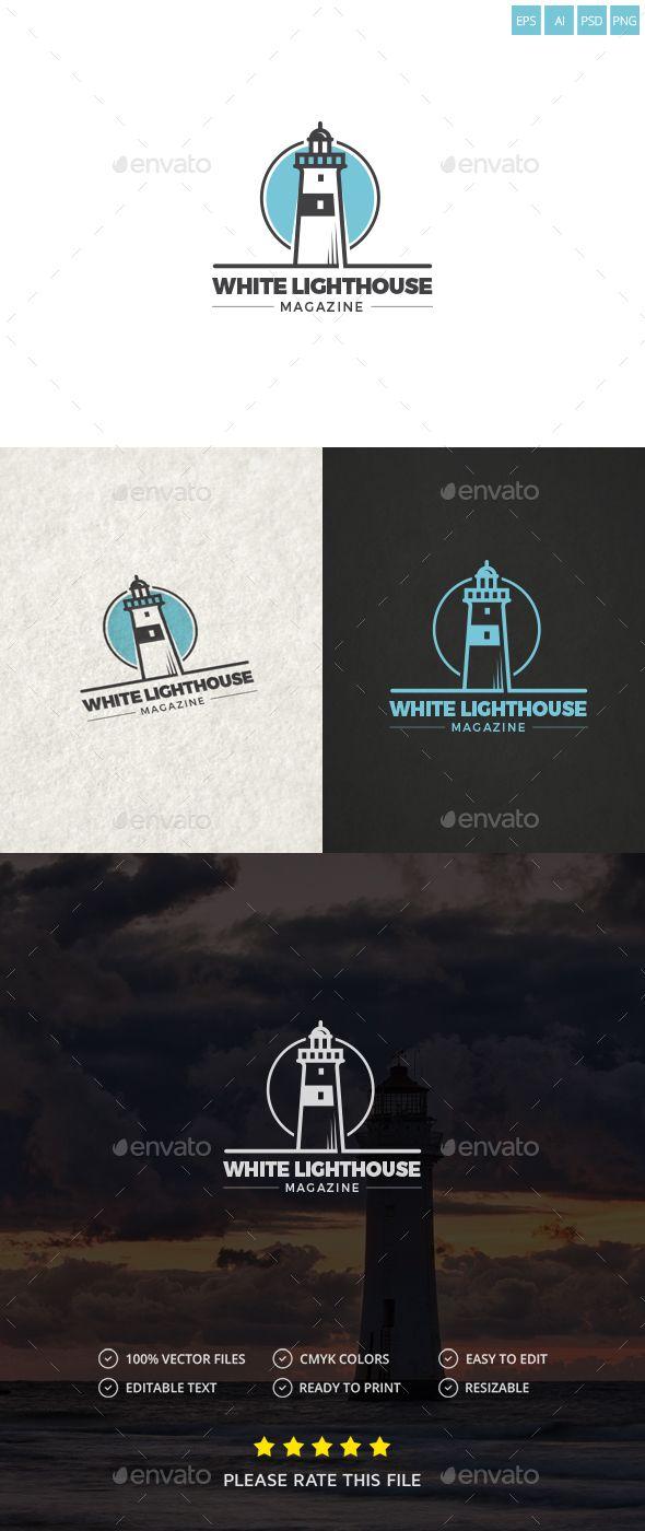 lighthouse logo pinterest ai illustrator logo templates and