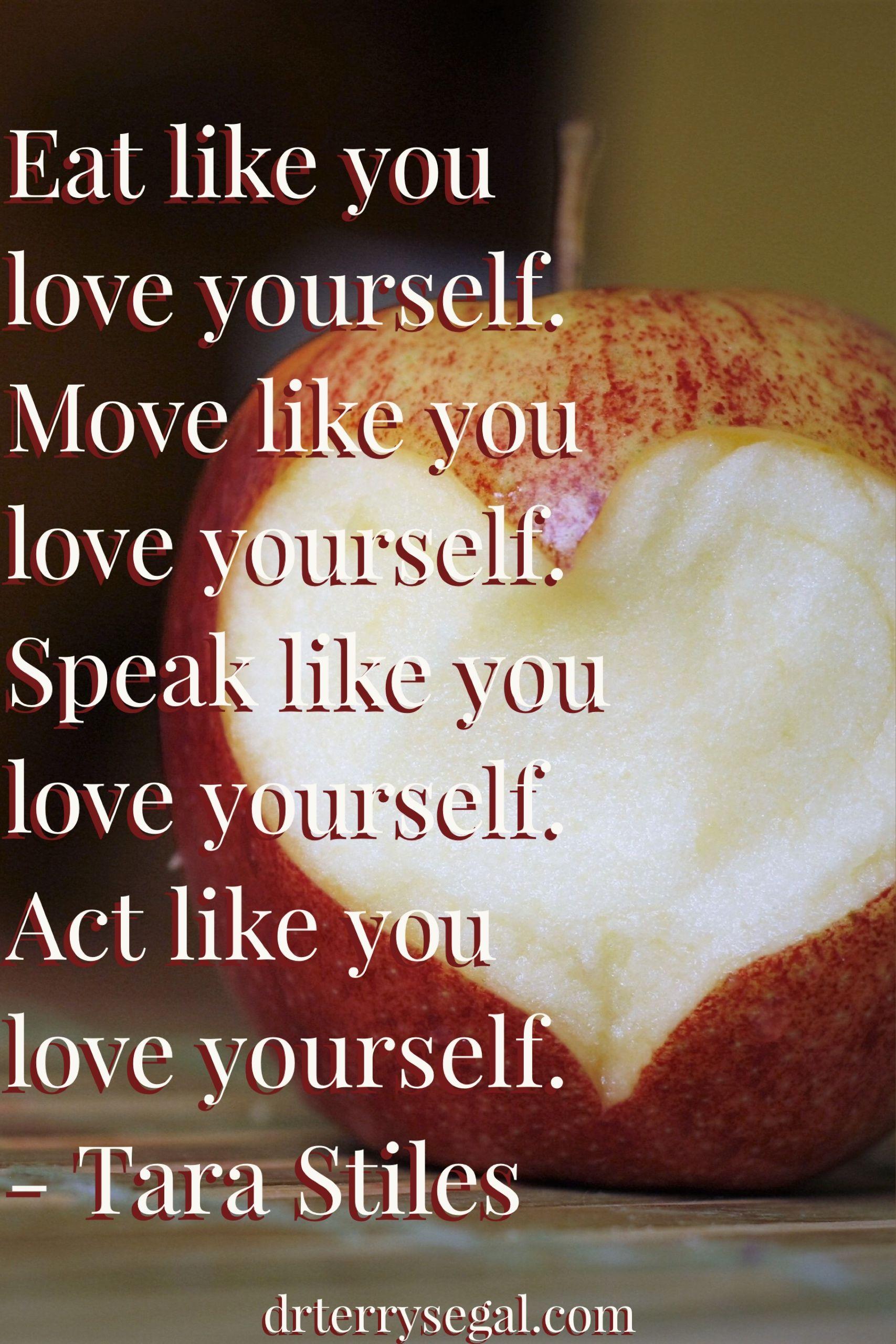 Retreat From Stress Eat Like You Love Yourself Move Like You Love
