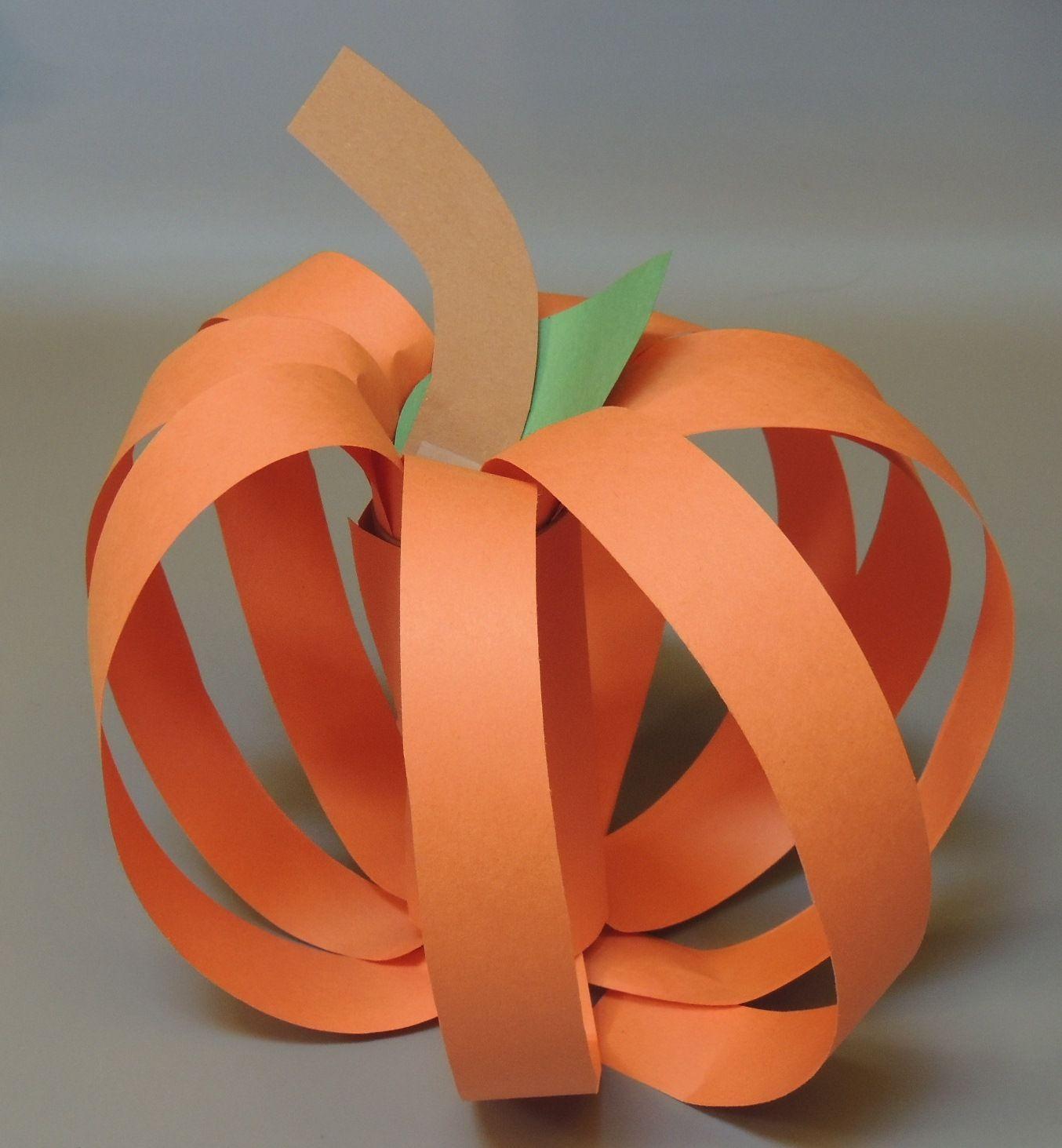 44+ Paper pumpkin craft video information