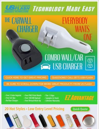 Promooffers Technology Products From Us Flash Technologies Technology Wall Charger Car Usb