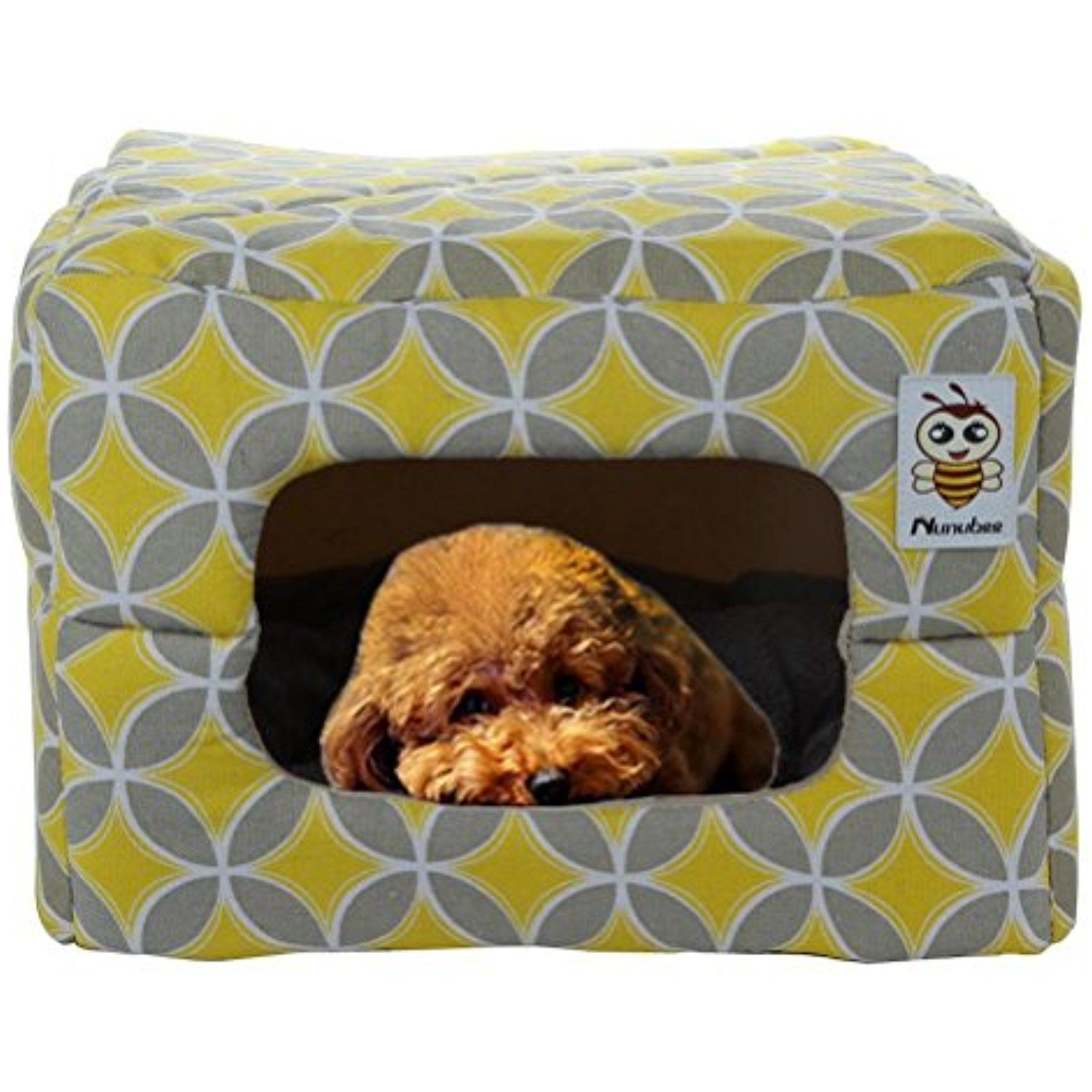 nunubee owl animal bed canvas pet bed triangle dog kennel pet nest