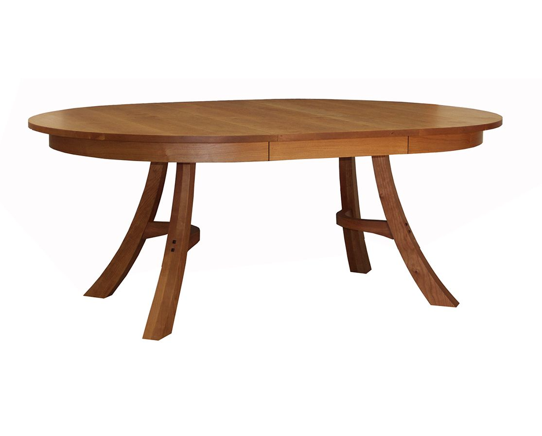 The Kyoto Dining Table Is Inspired By Japanese Design Aesthetics And Made In Portland Oregon It Available Both A Solid Top Or Round Extension
