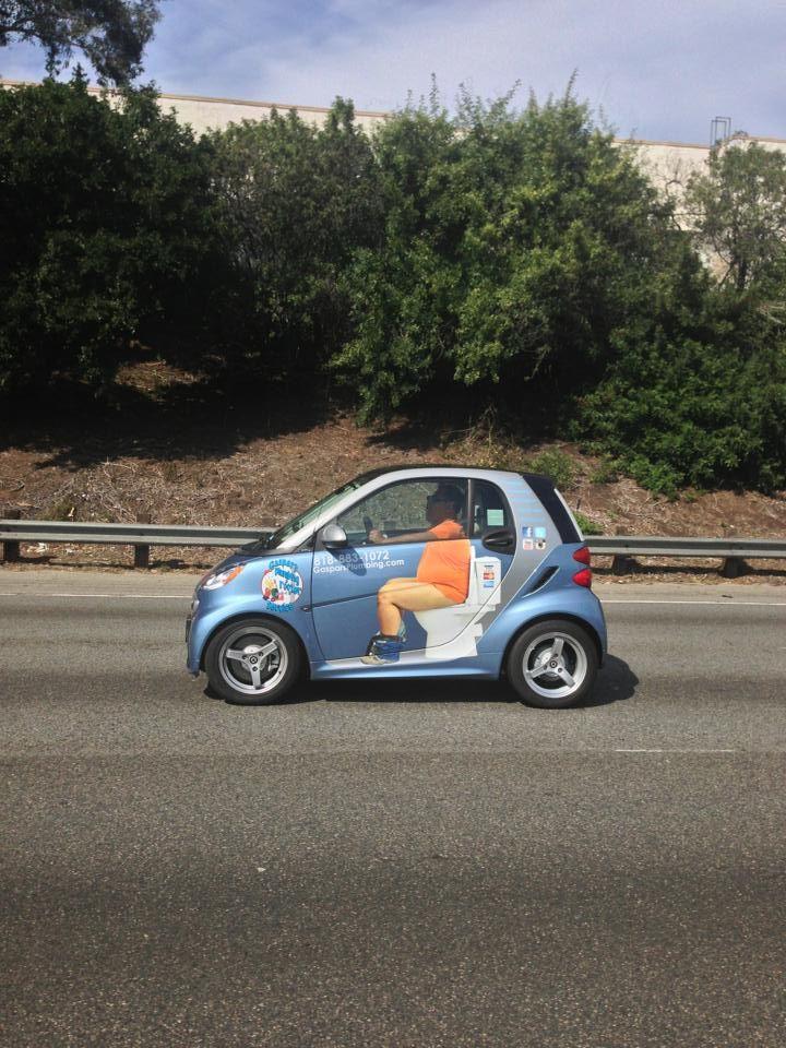 custom lifted smart car