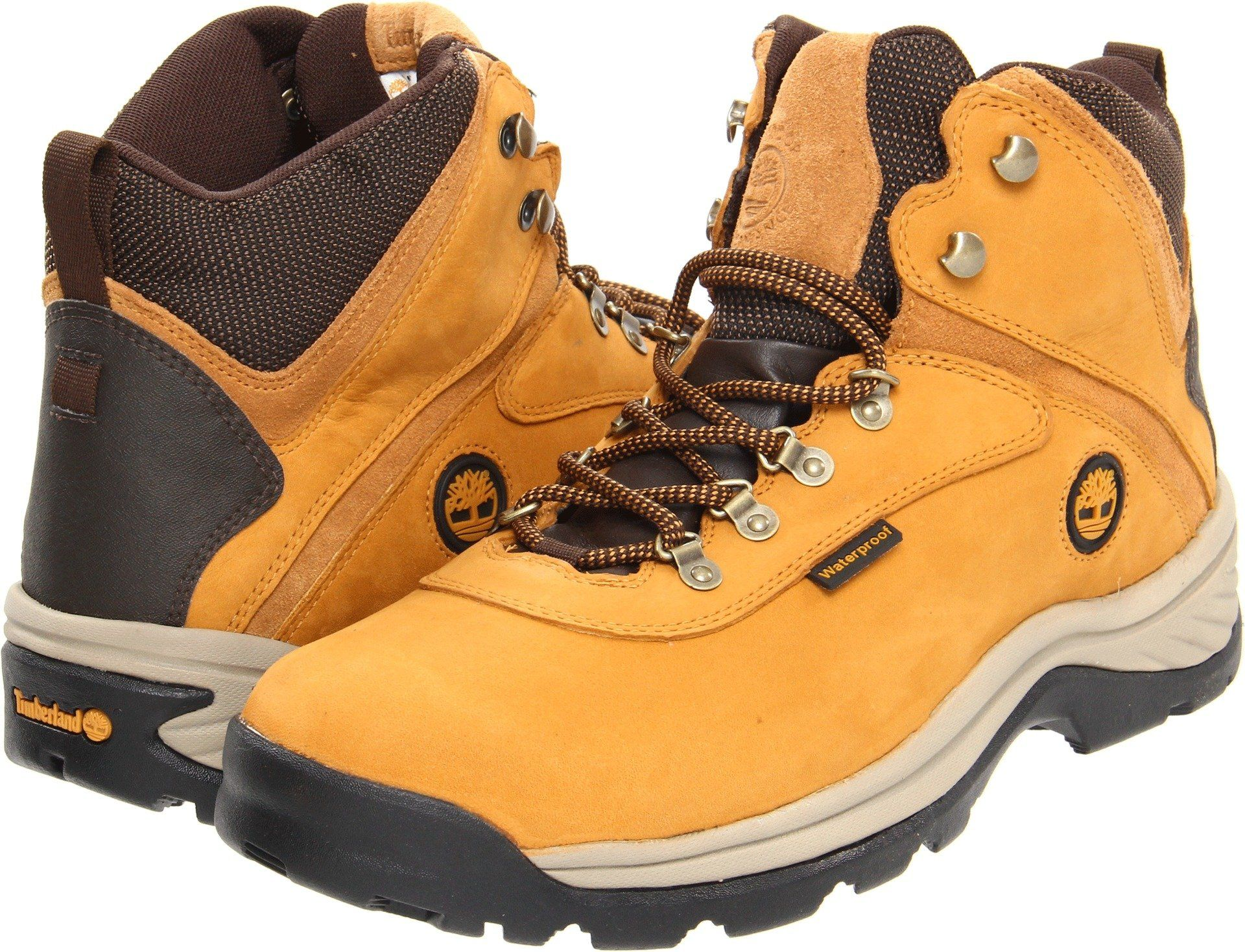 45078a66df6 Timberland 14176 Mens Mid White Ledge WP Boot Wheat 10.5 W US ...