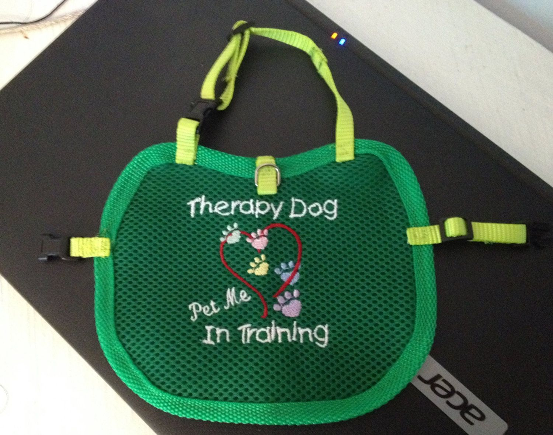 ... Reflective Therapy Dog Vest