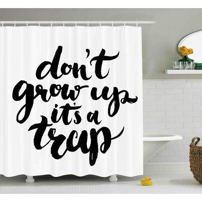 Ivy Bronx Benjamin Quote Dont Grow Up Its A Trap With Hand Written