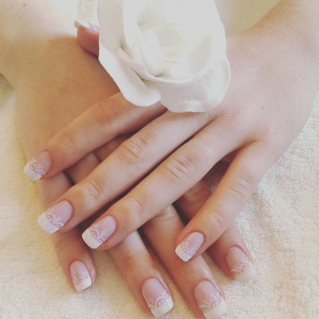 Classy Wedding Nails For Bride  wedding hairstyles and makeup