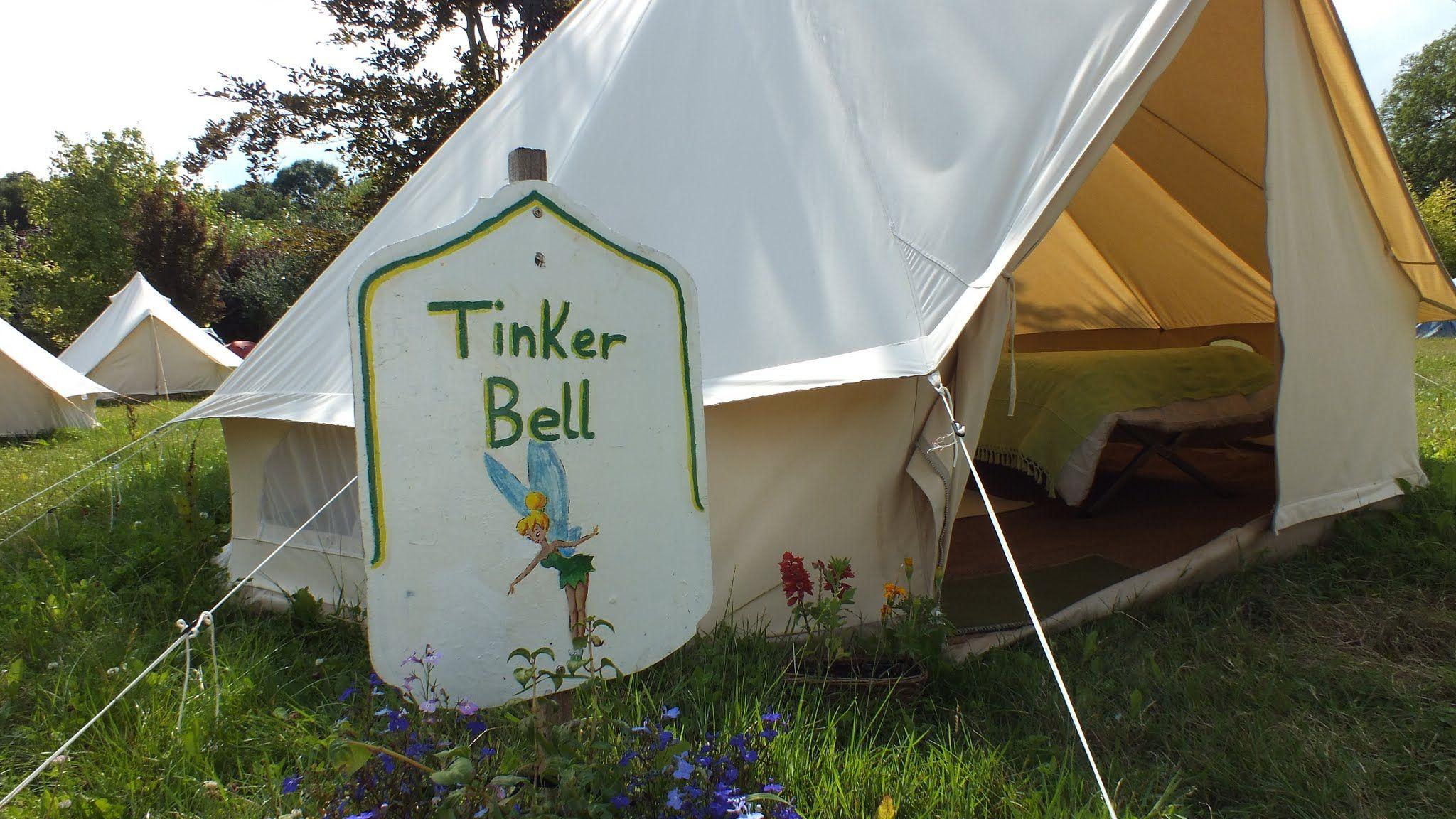 Tinker Bell Tent Ac modation Pinterest