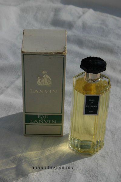 Oude fles Lanvin