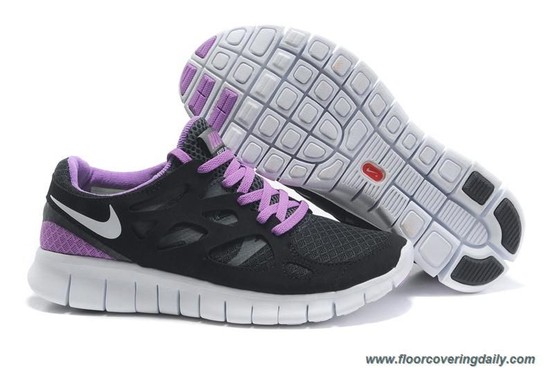quality design a32cd 24731 ... promo code for womens 443815 126 nike free run 2 black purple white  outlet 62639 fb5d6