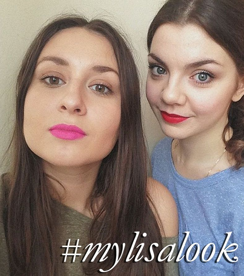 Sveta & Alexandra recreating my 'Uber Bright Lips' and 'Dramatic Matte Red Lipstick http://www.lisaeldridge.com/video/7033/uber-bright-lips/ http://www.lisaeldridge.com/video/1646/how-to-wear-dramatic-matte-red-lipstick-a-la-dita-von-teese/ #MyLisaLook #Makeup #Beauty