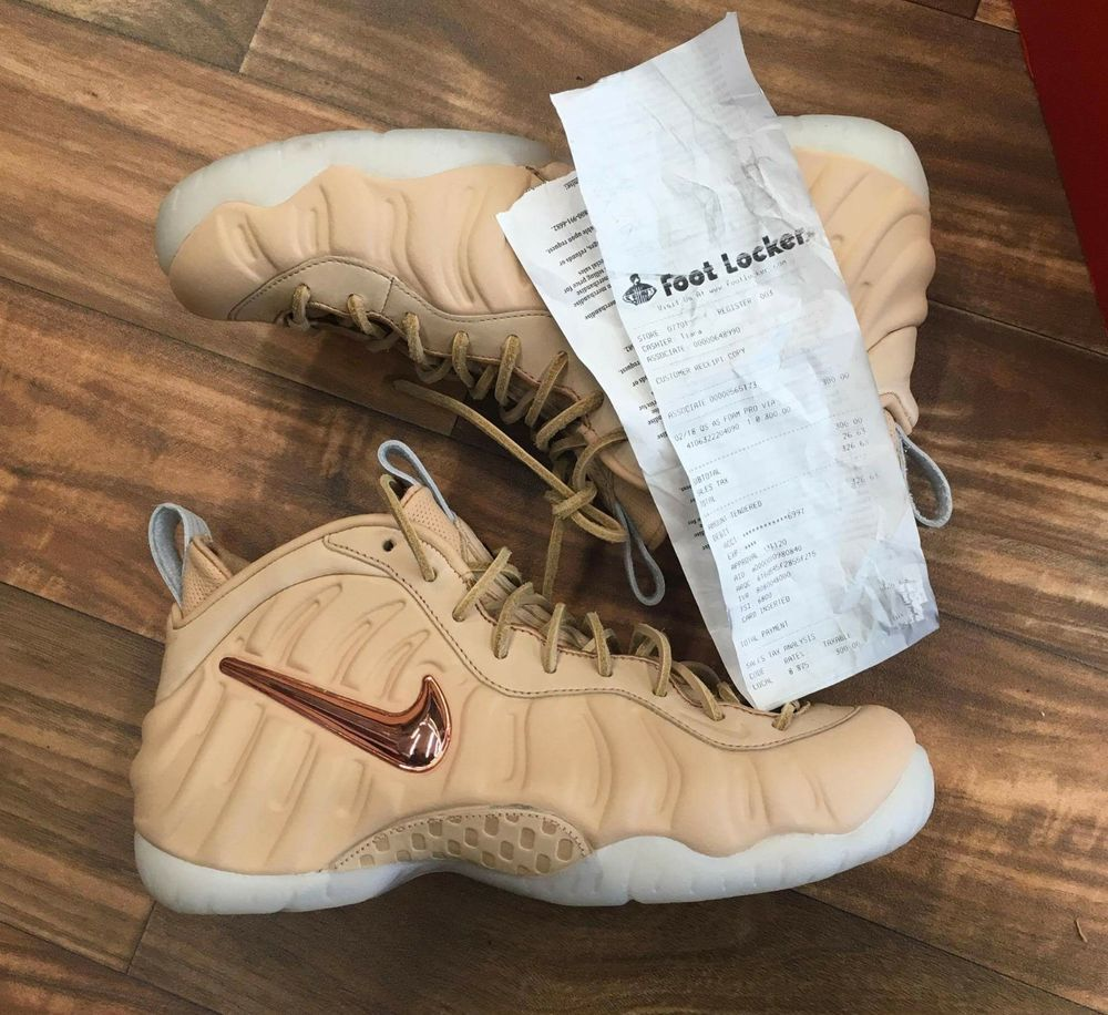 the best attitude db6ae f022c Nike air foamposite pro vachetta tan   Clothing, Shoes   Accessories, Men s  Shoes, Athletic   eBay!