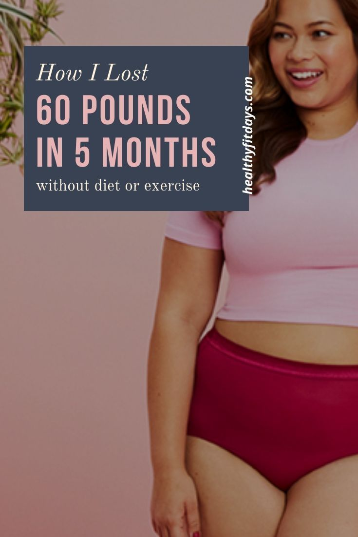 Need to Lose Weight? Follow the advice of a 40 Year Old Woman Who Lost 40 Pounds in 30 Days Without...