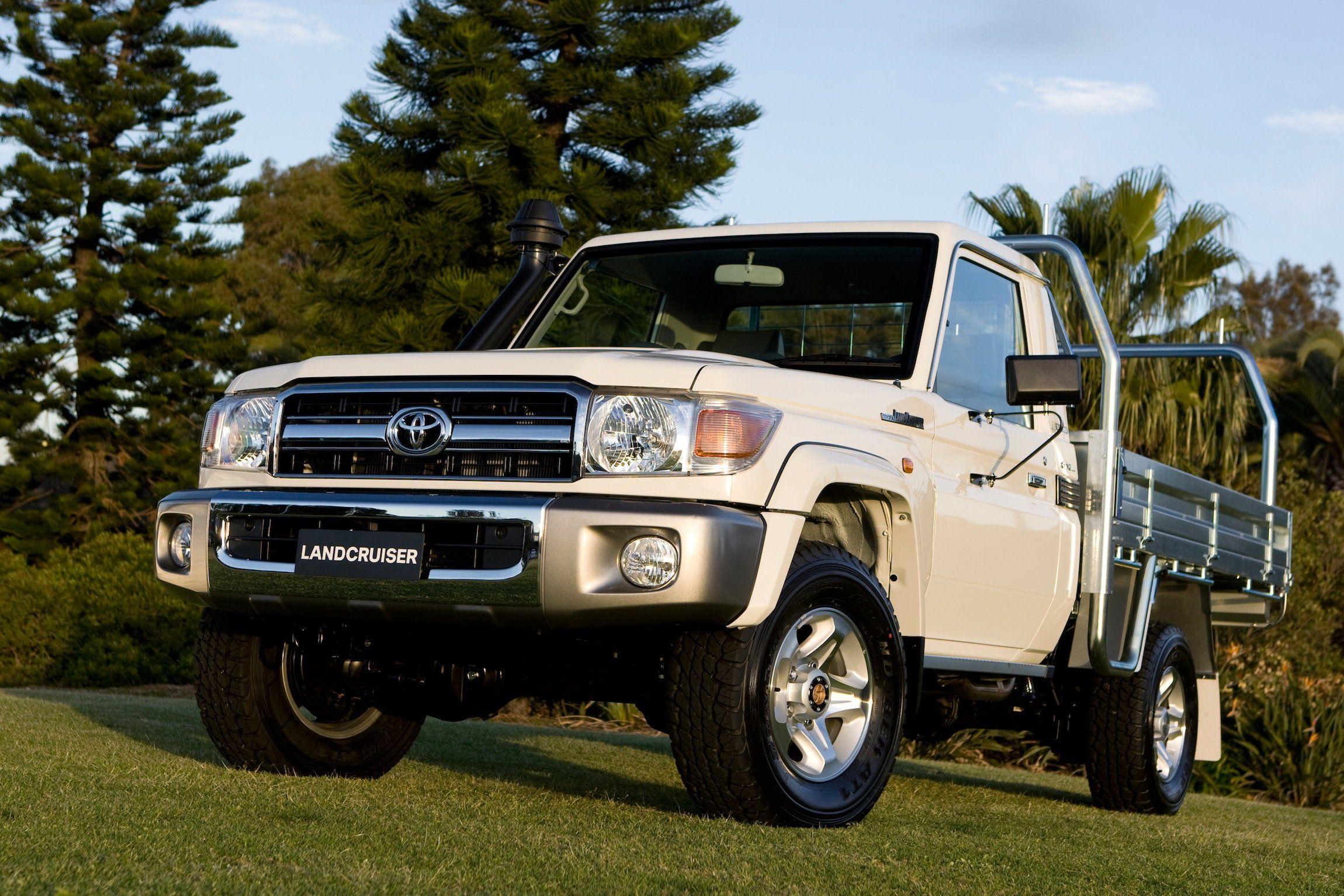 Toyota Landcruiser 70 Series Dual Cab Ute Coming Photos 1 Of 3