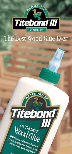 Titebond Iii Ultimate Wood Glue Tools