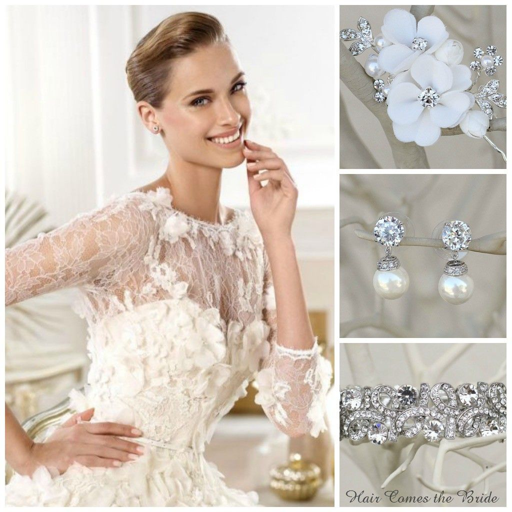 Bridal inspiration by hair comes the bride soft flowers bridal