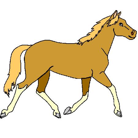 Coloriage cheval a imprimer id es pour la maison - Imprimer un cheval ...