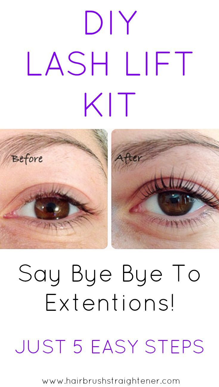The best eyelash perm kit for lash curling 2017 edition natural lash lifts all all the rage because extensions suck with my diy lash lift kit my natural lashes never looked better solutioingenieria Choice Image