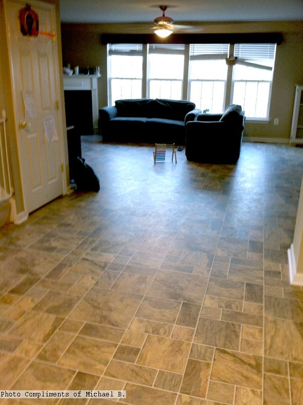 Alloc Tile Laminate Flooring Alicante Slate Tibalid92 Photo