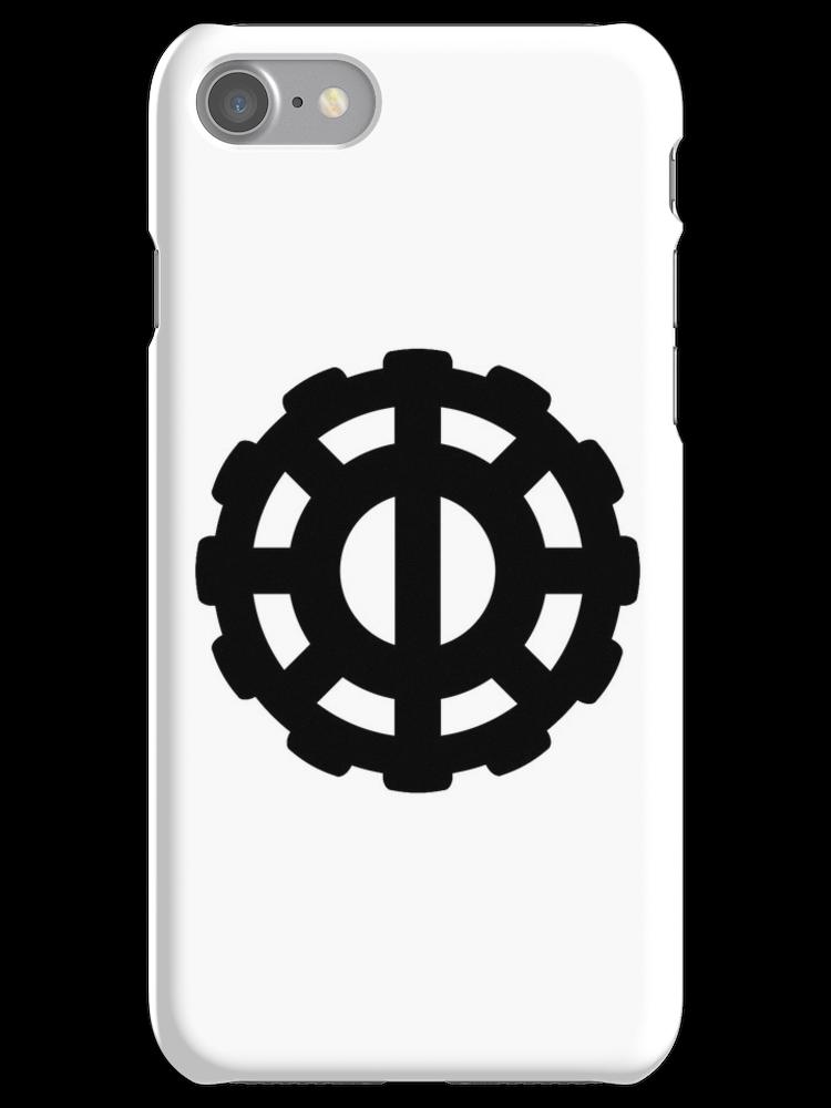 The 100 Heda Symbol iphone case