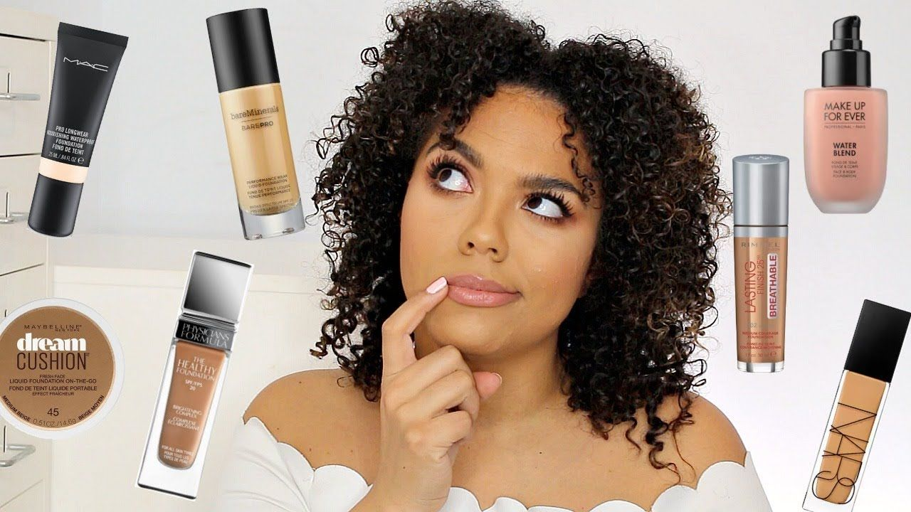 Best Foundations for Textured Skin (acne, cystic bumps