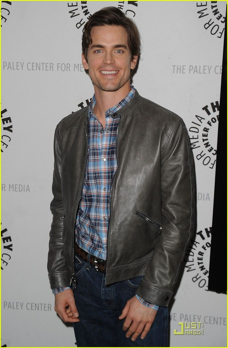 Matt Bomer at Comes Clean for White Collar Event - do like the jacket!!
