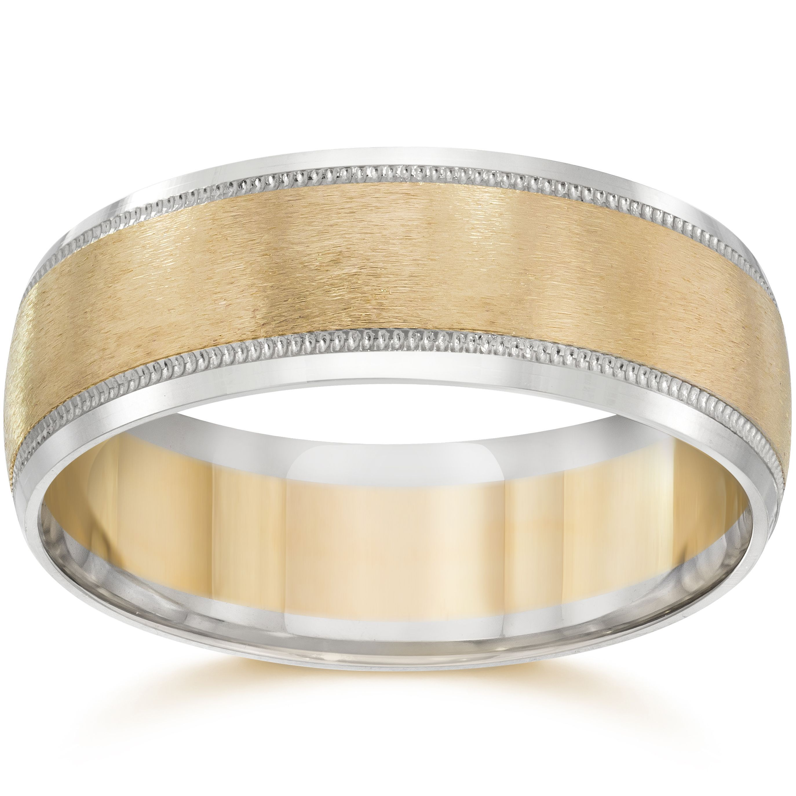 of inspirational white gold photograph wedding hammered and band beautiful rose mens bands