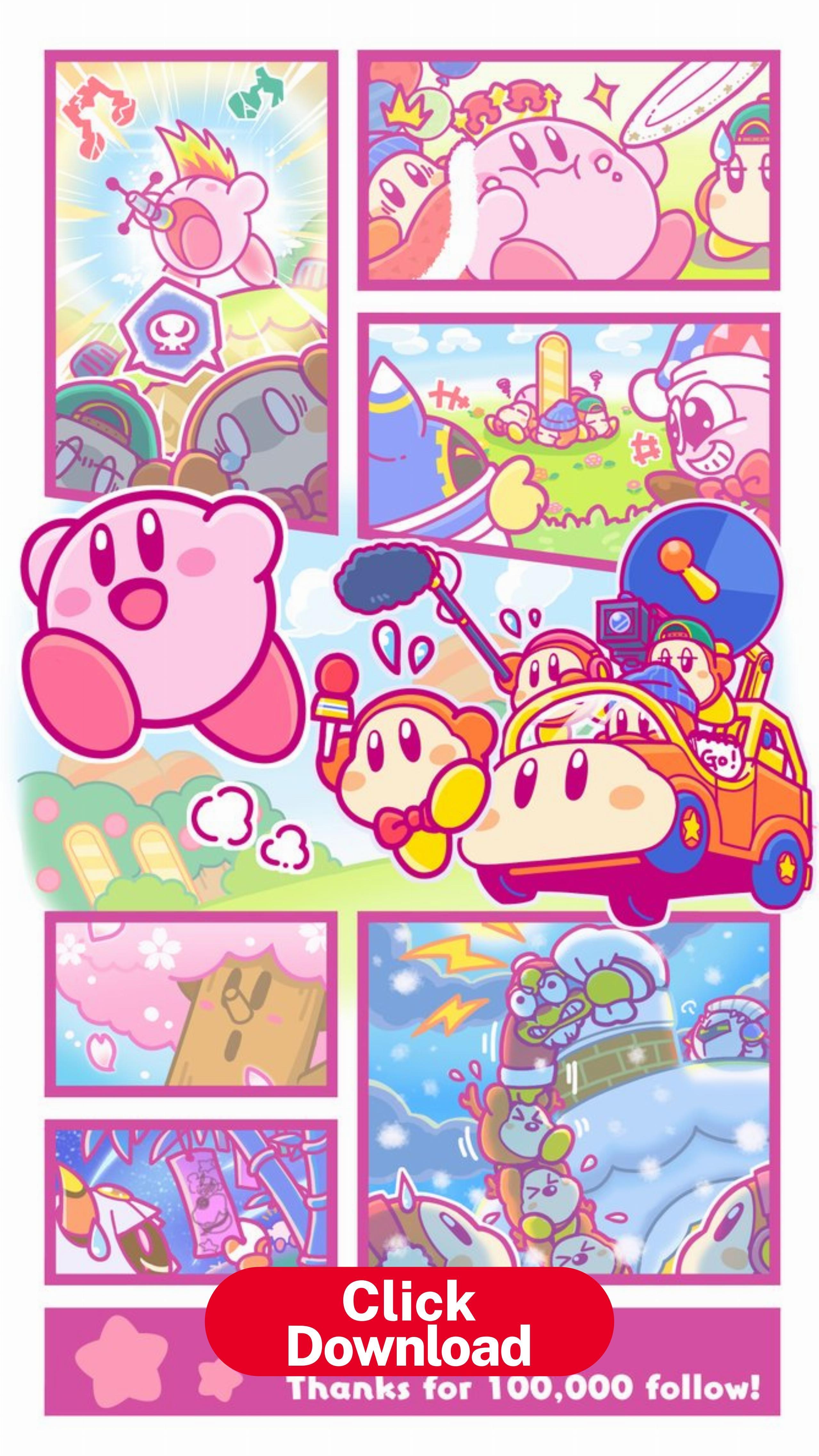 Pin en Kirby Phone Wallpaper