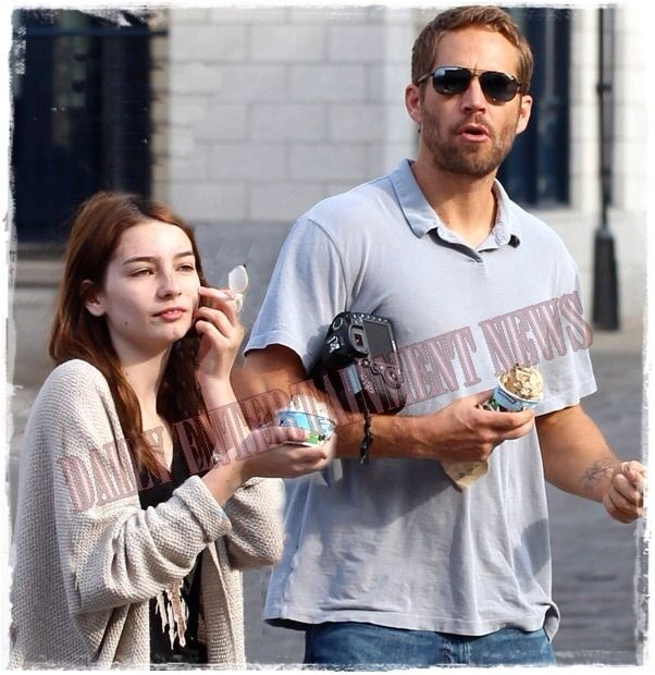 Paul Walker and daughter Meadow