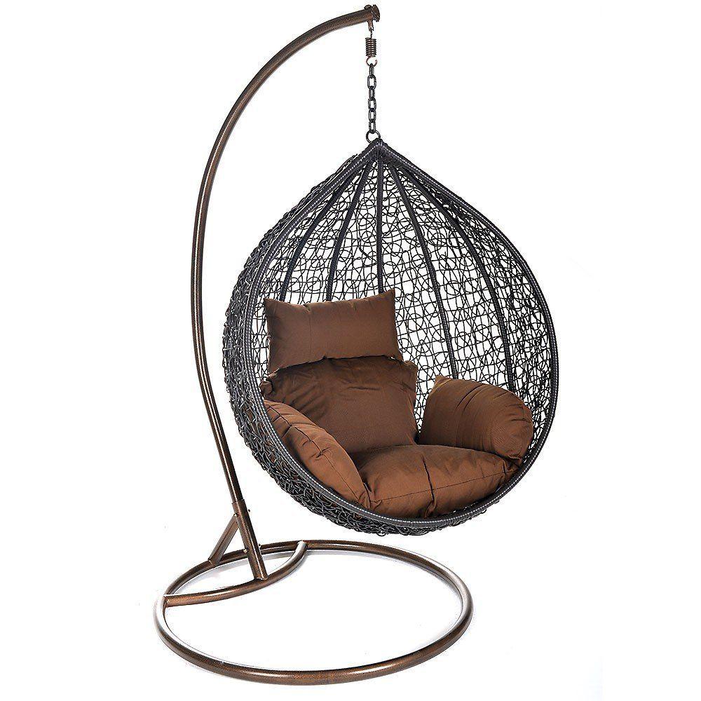h ngesessel cocoon inkl gestell sitz und r ckenkissen direkt hier bestellen wohnzimmer. Black Bedroom Furniture Sets. Home Design Ideas