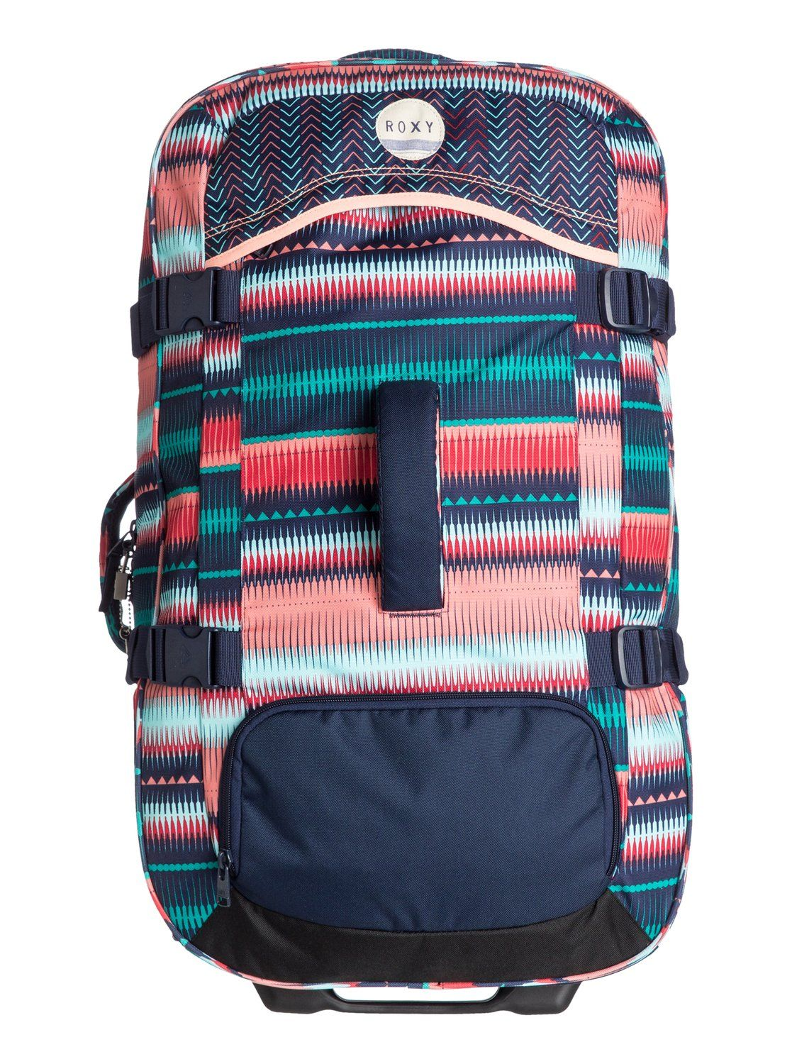 730db689d roxy, In The Clouds - Large Rolling Suitcase, 6537 JAGGED STRIPE GPF3 (gpf6)