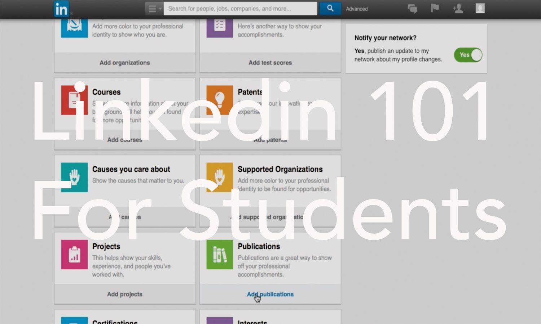 LinkedIn 101 for Students // Mason & Miles Student