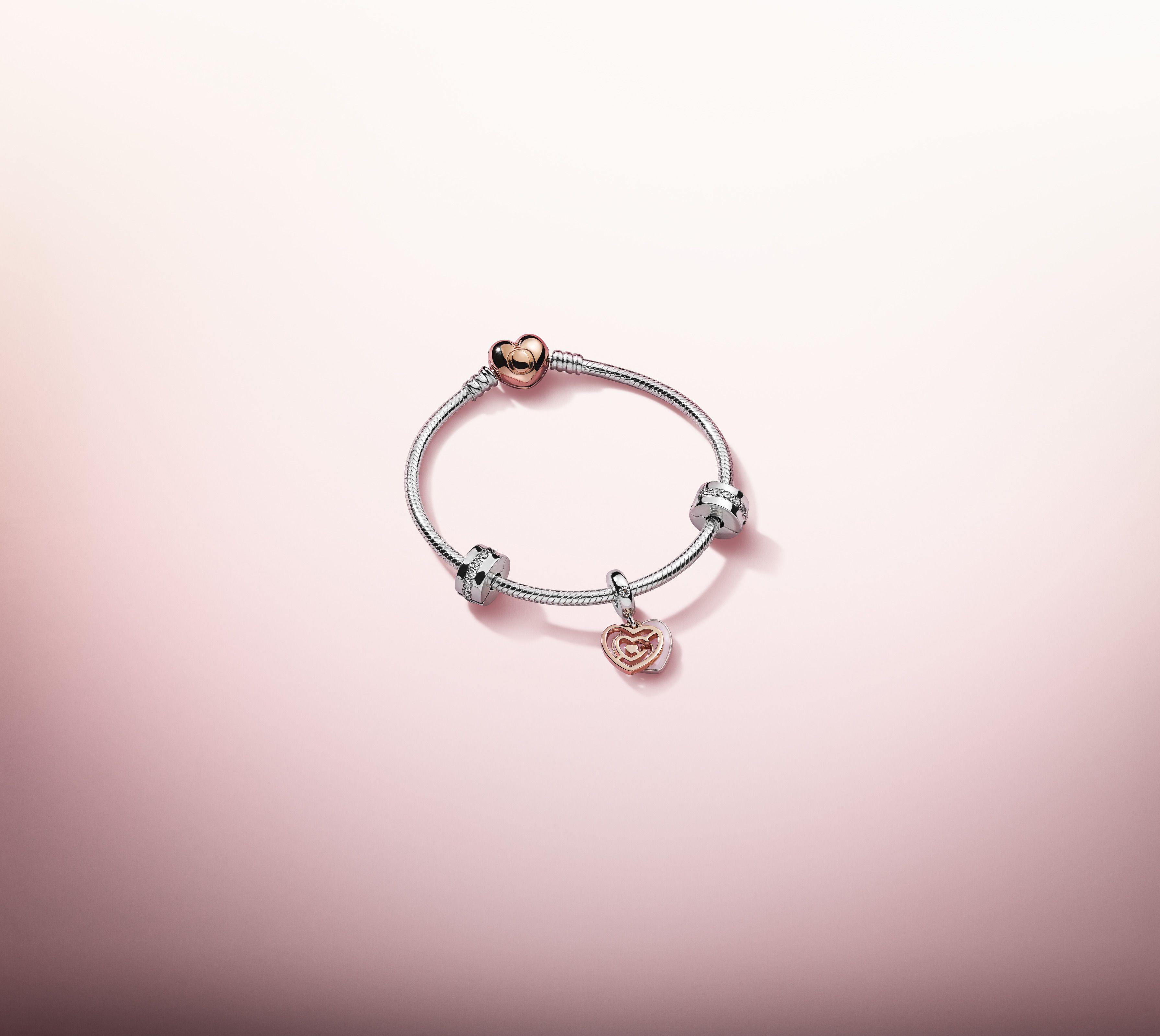 Pandora Saint-Valentin | Bracelet pandora disney, Pendentif ...