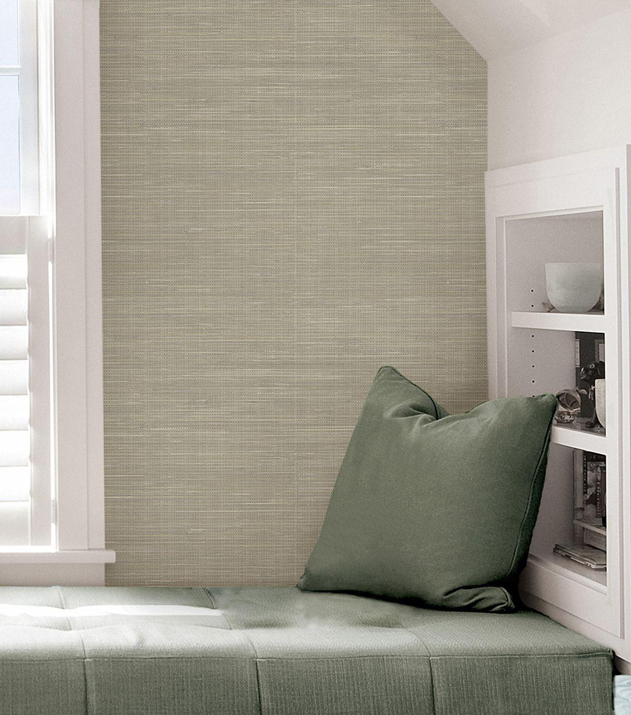 WallPops NuWallpaper Peel & Stick Wallpaper Grasscloth