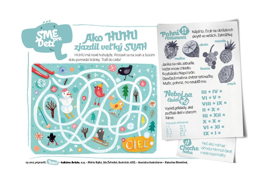 Slovak Illustrators Association Blog: SME pre deti illustrated by Katarina Ilkovicova