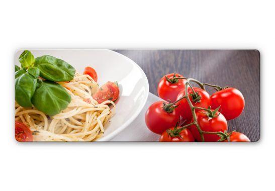 Tableau En Verre Pates A L Italienne Panorama Wall Art Fr Cuisine Gourmande Plats De Pates Cuisine