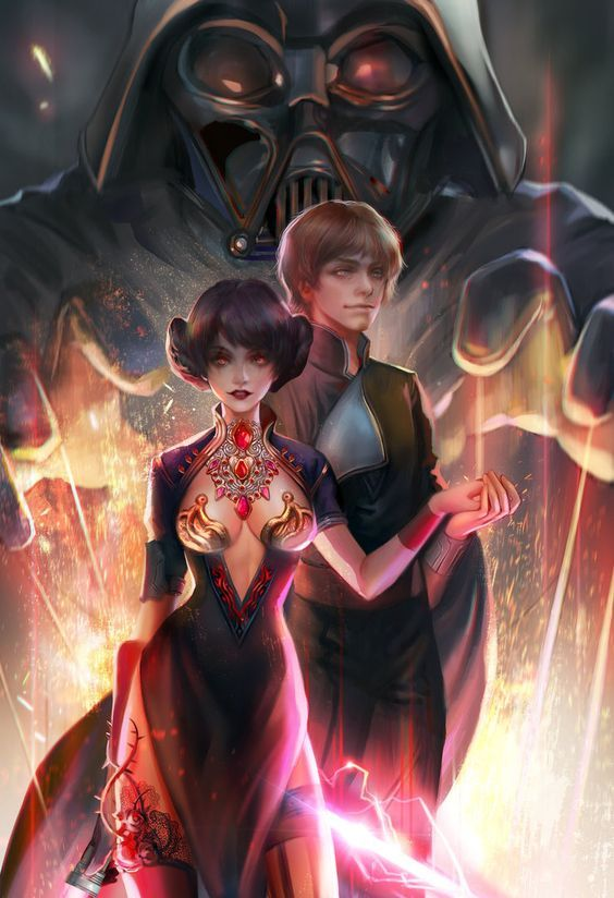 For We Have The Twins Leia Skywalker And Luke Fan Art